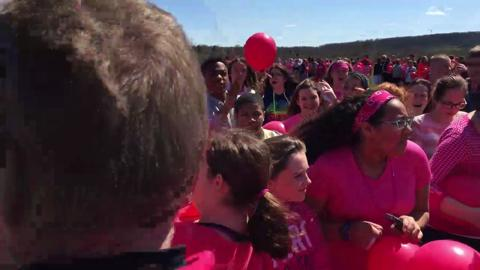 VIDEO: Balloon Release and Hope Westrick Tribute