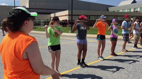 VIDEO: Central York Band Camp