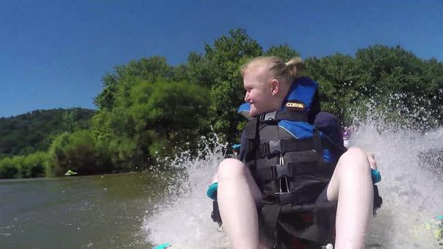 VIDEO: Easter Seals Adaptive Water Ski Clinic