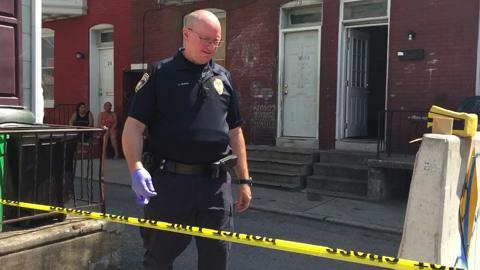 VIDEO: Scene of shooting at 30 Lafayette Street