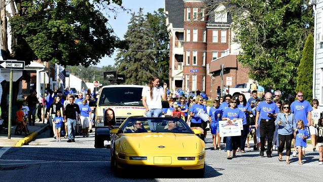 VIDEO: Spring Grove parade honors Hali Flickinger