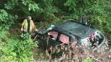 VIDEO: Subaru Dislodged from Woods