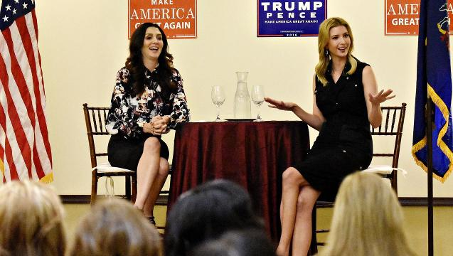 VIDEO: Ivanka Trump in New Cumberland