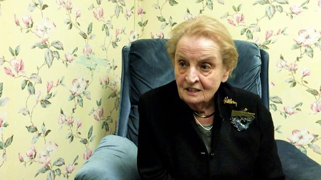 VIDEO: Madeleine Albright in York