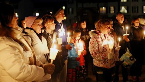 VIDEO: Candlelight vigil for Diana Ziegler