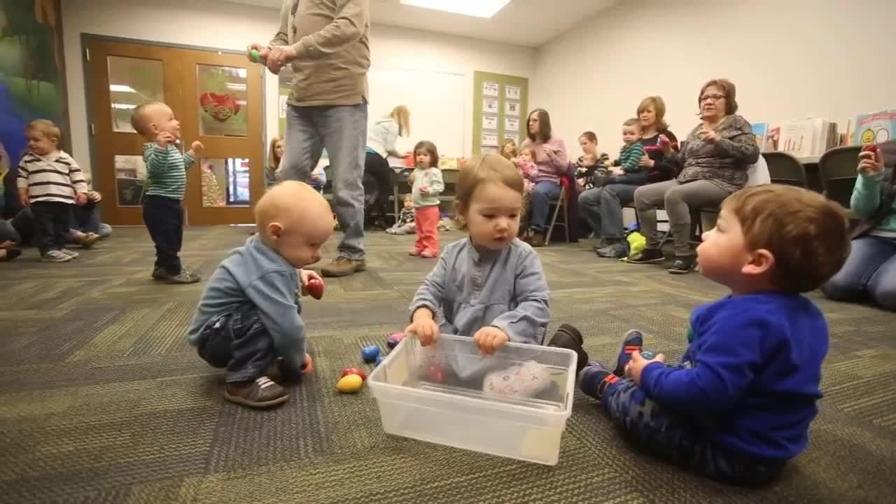 Babies and Books program at the Dover Area Community Library, Wednesday, Feb. 16, 2017.