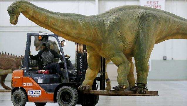 VIDEO: Jurassic Quest in York